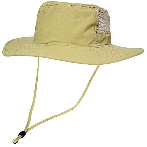 Outdoor Boonie Sun Hat - Sunlight Blocking Summer Hat for Men, Women and Children with Chin Cord & 270° Mesh - Wide Brim Waterproof Bucket Hat for Fishing, Camping, Safari | 1 or 2 Pack (Hat Rain Safari)