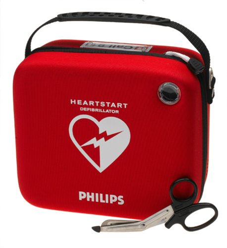 (Philips HeartStart Home and OnSite AED Defibrillator Standard Carry Case)