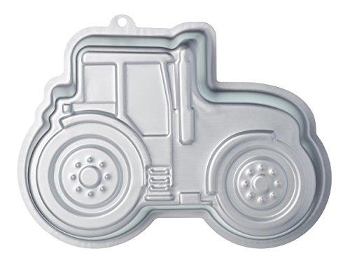 "KitchenCraft Sweetly Does It Novelty Tractor Cake Tin, 28.5 x 20 x 5.5 cm / 11"" x 8"" x 2"""