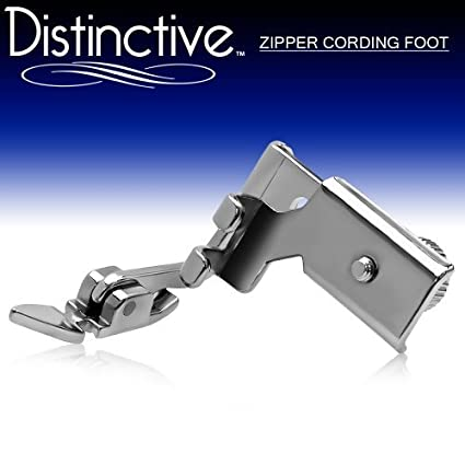 Amazon Distinctive Adjustable Zipper Piping Cording Sewing Classy Piping Foot For Juki Sewing Machine