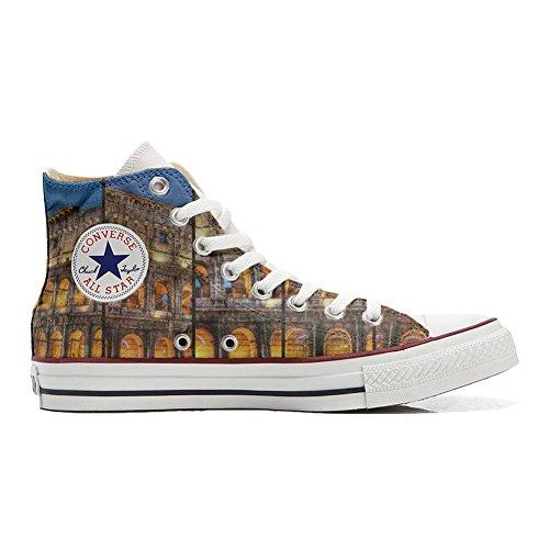 Converse Customized Schuhe Colosseo Roma personalisierte Star Schuhe Hi All Handwerk rtqx4w6r0