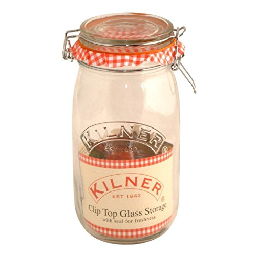 Kilner Round Clip Top Jar, 1.5 Liter, Case of 12 by Kilner (Image #3)