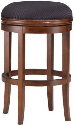 Hillsdale Oakview 24-Inch Backless Swivel Counter Stool