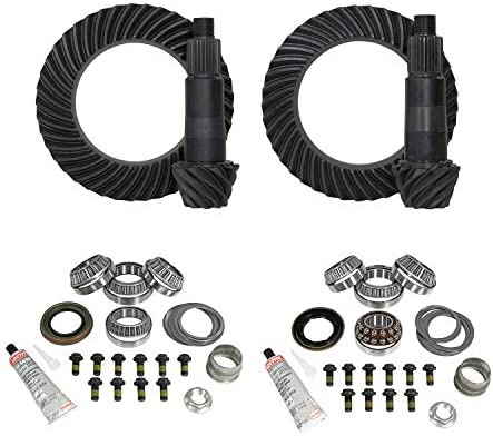 Yukon Complete Gear and Kit Pakage for F350 Dana 80 Rear /& Dana 60 Front with 3:73 Gear Ratio