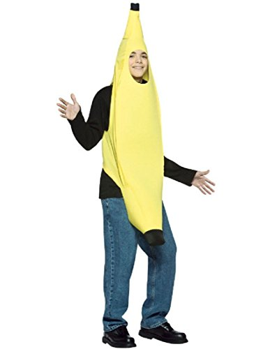 Rasta Imposta Teen Banana Halloween Costume, One Size