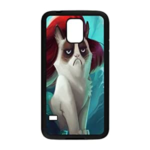 YNACASE(TM) Grumpy Cat Personalized Hard Back Cover Case for SamSung Galaxy S5 I9600,Custom Phone Case with Grumpy Cat