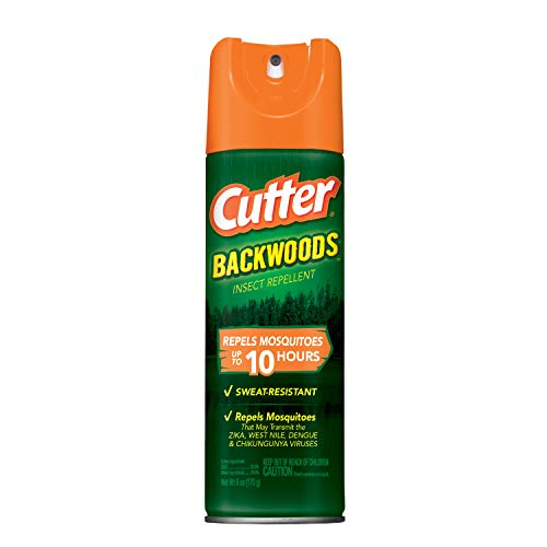 (Cutter Backwoods Insect Repellent, Aerosol, 6-Ounce, 12-Pack )