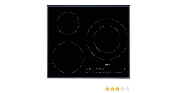 AEG HK6532H2FB Integrado Con - Placa (Integrado, Con placa de inducción, Negro, 2500 W, 14,5 cm, 3700 W): Amazon.es: Grandes electrodomésticos
