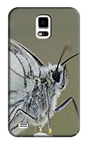 Butterfly Hard Back Shell Case / Cover for Samsung Galaxy S5