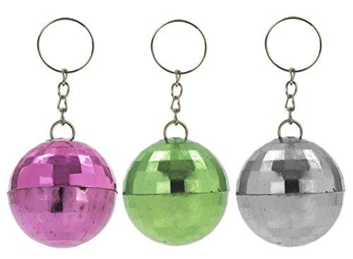 Disco Ball Girl Costume (Disco Ball Key Chains (1 dz))
