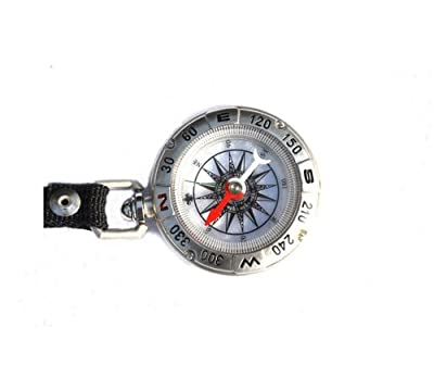 High-grade Metal Shell Metal Spoon Buckles Watch Type Compass