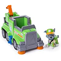PAW Patrol Rocky's Ultimate Rescue Recycling Truck with Moving Crane & Flip-Open Ramp