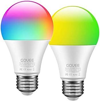 2-Pack Govee WiFi Smart Light Bulb