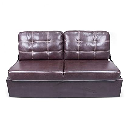 Amazon Com 68in Jack Knife Sofa Melody Walnut With Kickboard
