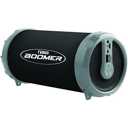 NAXA NAS-3071 GRAY BOOMER Portable Bluetooth Speaker
