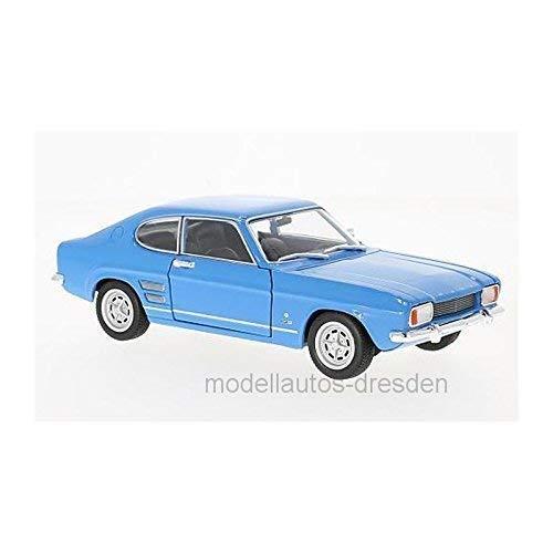 Welly 24069 FORD CAPRI I 1600 GT XLR Azul Escala 1:24 Coche a Escala