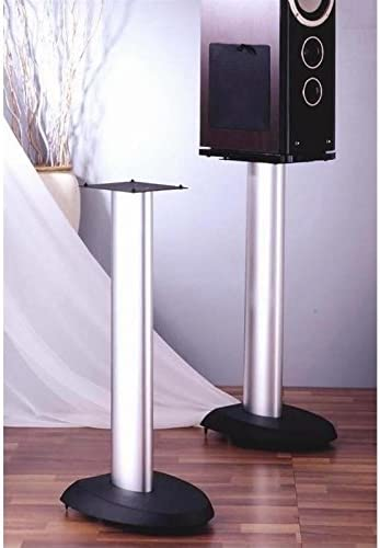 VSP Series Aluminum Speaker Stand in Black – Set of 2 29 in.
