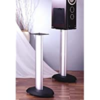 VSP Series Aluminum Speaker Stand in Black - Set of 2 (29 in.)