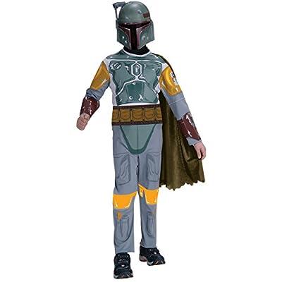 Star Wars Child's Boba Fett Costume, Medium: Toys & Games