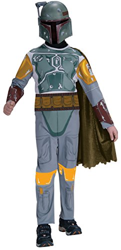 Boba Fett Halloween Costumes (Star Wars Child's Boba Fett Costume, Medium)