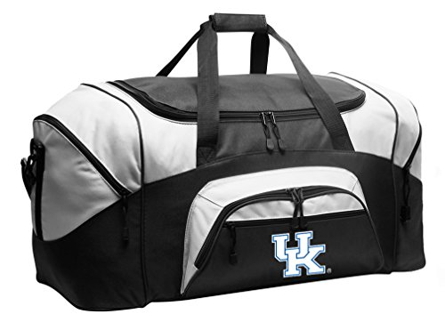 Large Kentucky Wildcats Duffel Bag University of Kentucky Suitcase or Gym Bag for Men Or Her (Wildcats Gym Bag)