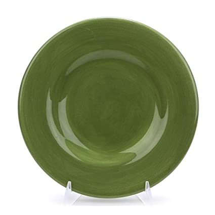 Salad Plate by Hausenware Ceramic Sage Green  sc 1 st  Amazon.com & Amazon.com | Salad Plate by Hausenware Ceramic Sage Green: Salad ...