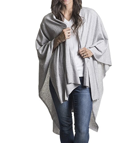 Mer Sea Cotton Cashmere Travel Wrap (Whisper) by Mersea