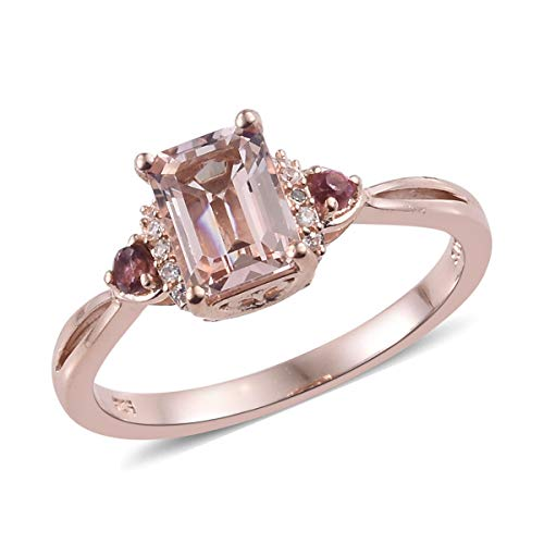 925 Sterling Silver Vermeil Rose Gold Plated