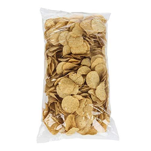 - Mission Foods White Round No Salt Tortilla Chips, 2 Pound -- 6 per case.