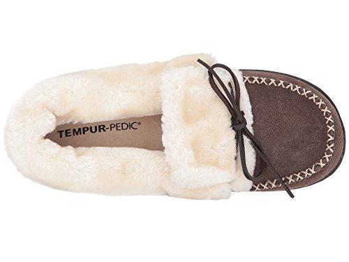 Tempur-pedic Womens Laurin Snøre På Moccasin Grå