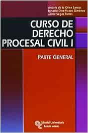 Curso de derecho procesal civil I: Parte general Manuales