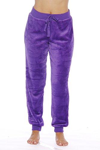 Purple Fleece Pants - 8