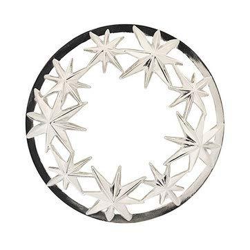 Yankee Candle Silver Stars Illuma-Lid Jar Candle Topper