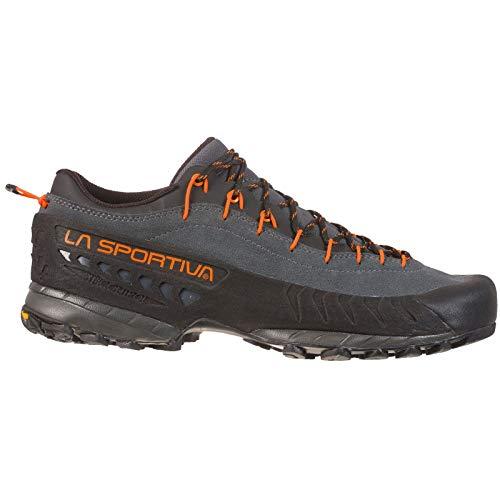 La Sportiva TX4 Approach Shoe, Carbon/Flame, 46.5