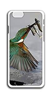 Custom Cover Case with Hard Shell Protection iphone 6plus cases for girls designs - Fishing bird