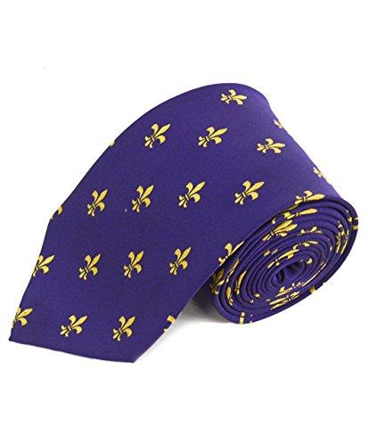 Fleur-de-lis Pattern Men's Classic Tie