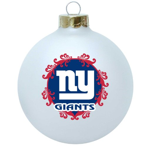 (NFL New York Giants Large Collectible Ornament)