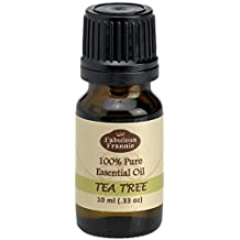TEA TREE 100% Pure, Undiluted Essential Oil Therapeutic Grade - 10 ml. Great for Aromatherapy!