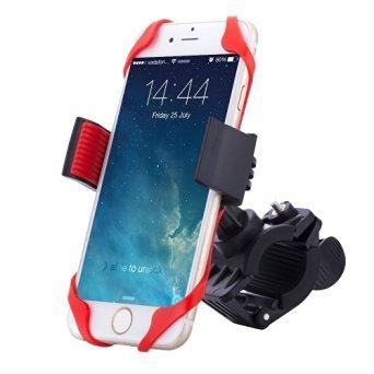 Bike & Motorcycle Cell Phone Mount - NALAKUVARA Universal Heavy Duty Mountain & Road Handlebar...