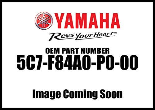Yamaha 5C7-F84A0-P0-00 Silver Short Quick-Release Passenger Backrest