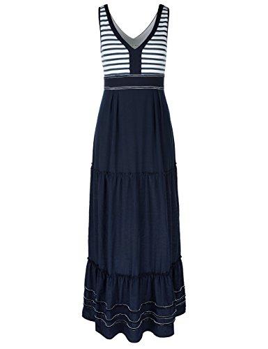 MARC CAIN SPORTS, Vestido para Mujer Blau (space blue 393)