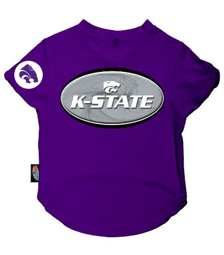 Dog Zone NCAA Pet Performance Football Jersey, X-Small, Purple, Kansas State University by dog zone