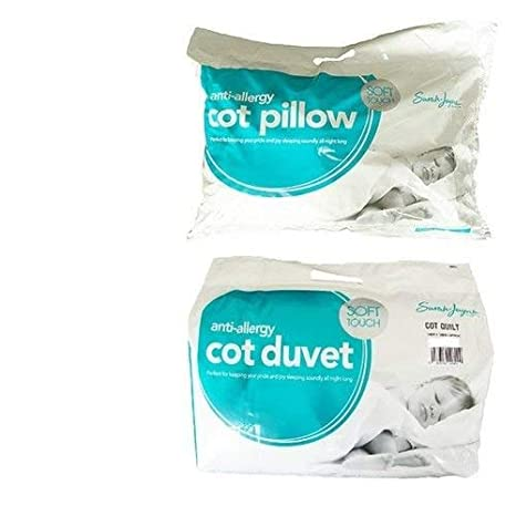 Toddler Duvet 4.5 Tog + Cot Pillow