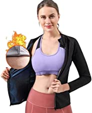 GOLD XIONG PADISHAH Women Sauna Suit Fitness Exercise Sauna Sweat Suit | Long Sleeve Sauna Jacket Women Sauna