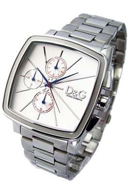 9b292cc46ae Dolce Gabbana - Good Times Chrono DW0108 - Montre Homme - Quartz -  Chronographe - Bracelet