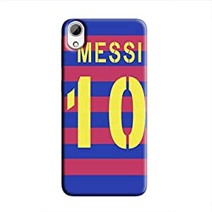 Cover It Up - Messi 10 Jersey Print Desire 626 Hard Case