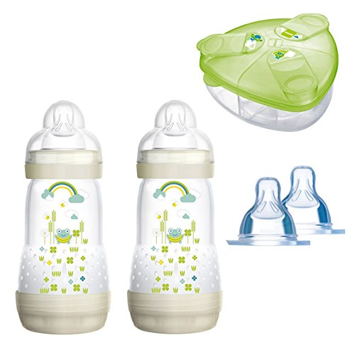 MAM Sparset III Anti-Colic Starter-Set mit Anti-Kolik Flaschen Set