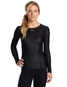 Gore Bike Wear Women's Base Layer Windstopper Lady Long Shirt (Black, Small)