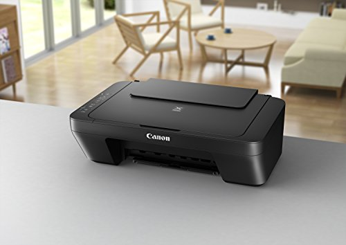 Canon PIXMA MG2525 Photo All-in-One Inkjet Printer with Scanner and Copier, Black
