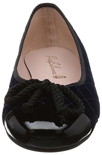 Black Femme Palais 35663 Ballerines Ballerinas Pretty shade Blue Blue qFAOUfwH